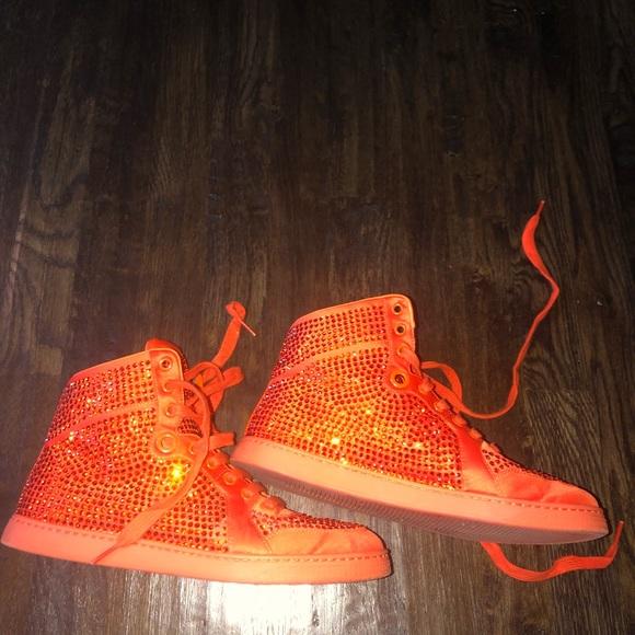 Gucci Shoes | Gucci Rhinestone Sneakers